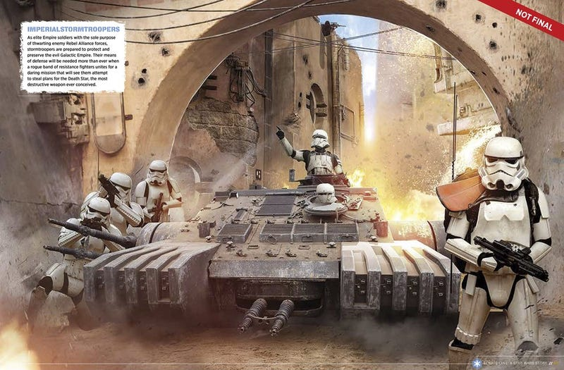 Illustration for article titled Finally saw Rouge One, Vehicle Question Follows...