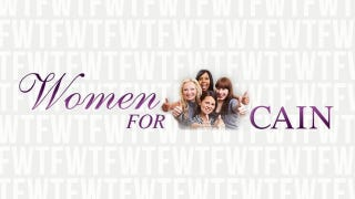 Illustration for article titled 'Women For Herman Cain' Is A Thing That Actually Exists