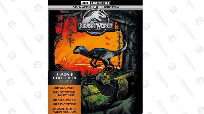 Jurassic World: 5-Movie Collection | $65 | Amazon