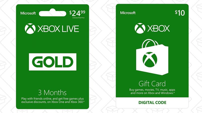 Buy Three Months of Xbox Live Gold, Get a $10 Xbox Gift Card