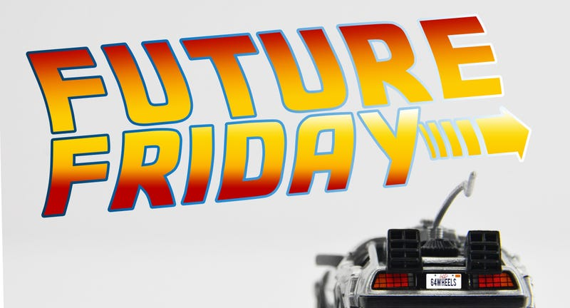 Illustration for article titled Future Friday with the Malibu BTTF Delorean