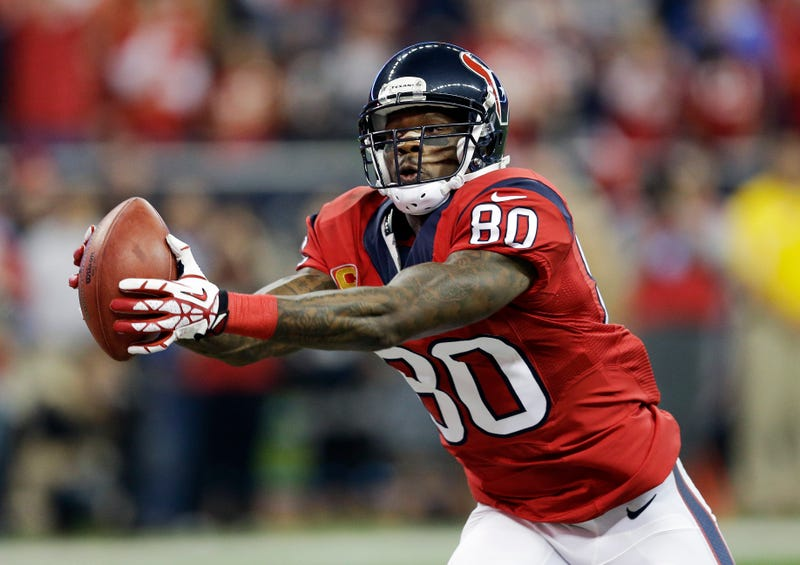 Illustration for article titled Andre Johnson's Only Way Out Of Houston Seems To Be Retirement