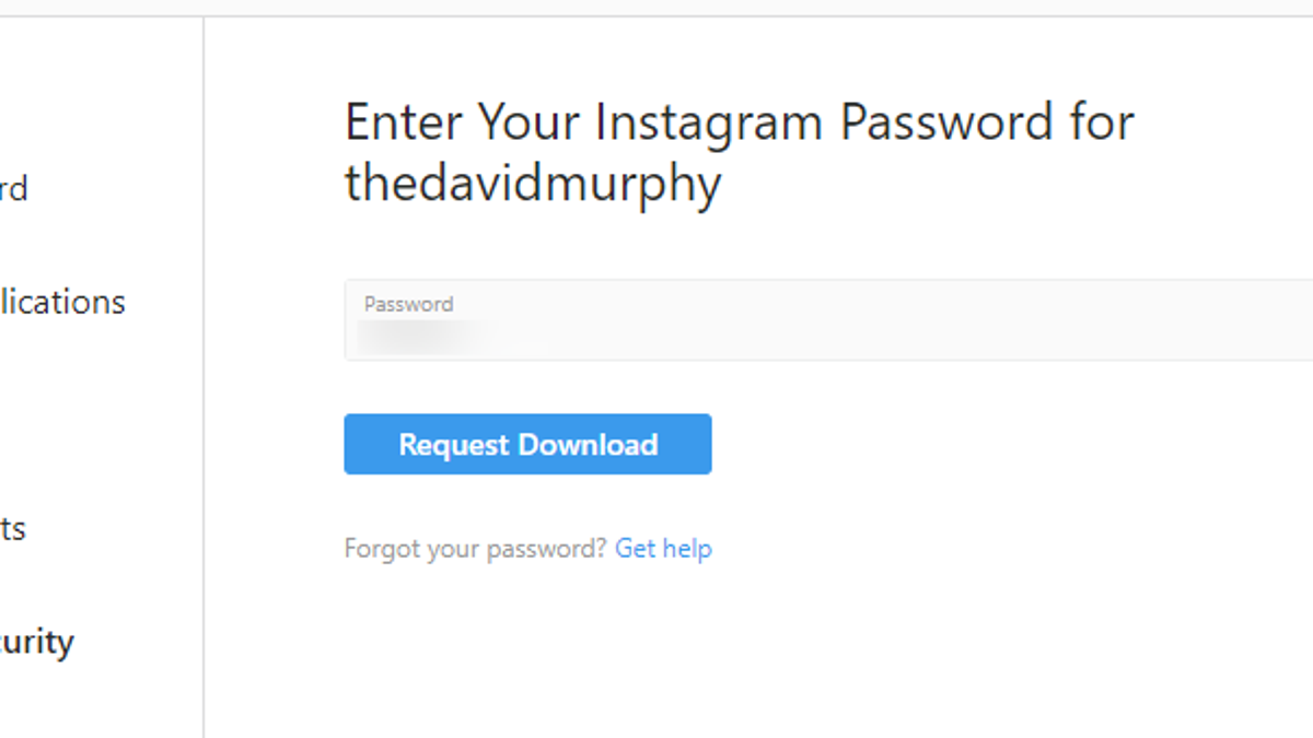 What's in Your Instagram Data Dump and How to Get It