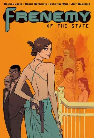 Illustration for article titled Her Life In Comics: Rashida Jones Makes A Frenemy