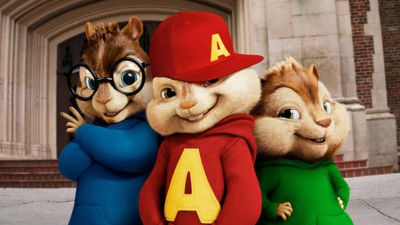 Illustration for article titled Alvin And The Chipmunks: The Squeakquel