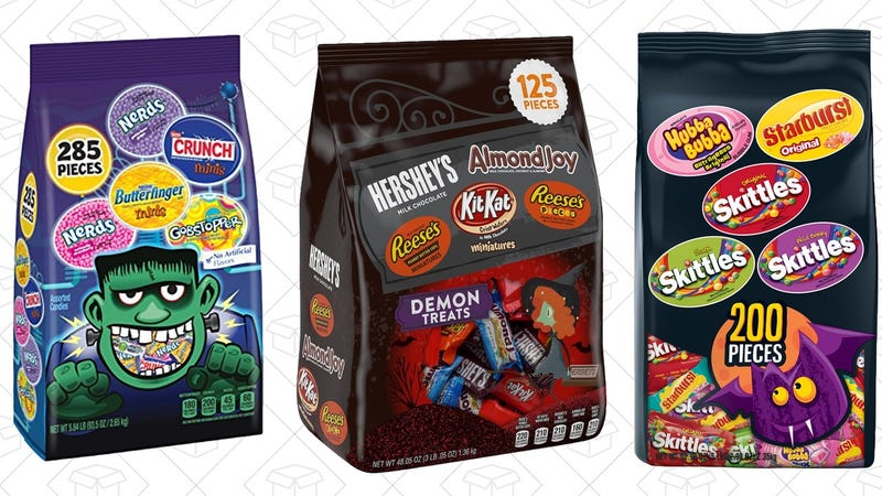 20% off Nestle Candy | 20% off Wrigley Candy | 25% off Hershey Candy | Discounts shown at checkout.