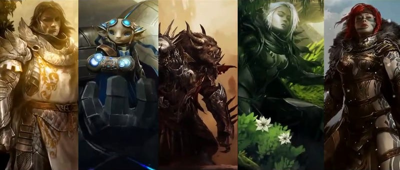 Illustration for article titled Fan Creates An Awesome Guild Wars 2 Mega-Trailer [UPDATE: One More]