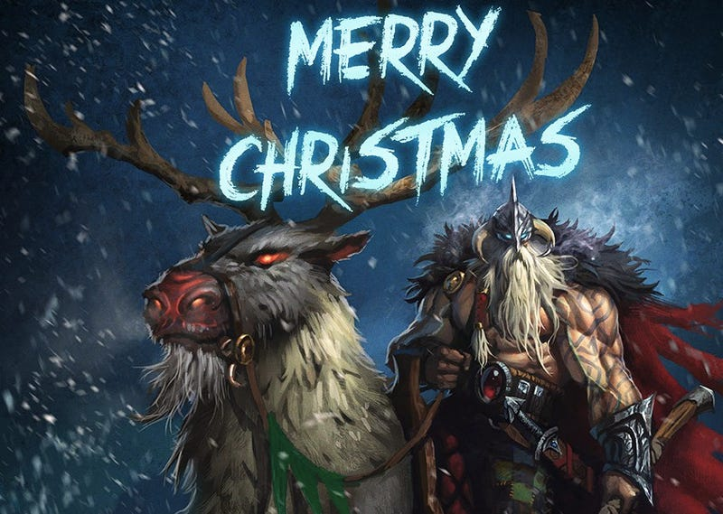 santa is getting his own gritty origin movie where hes a viking - Viking Christmas