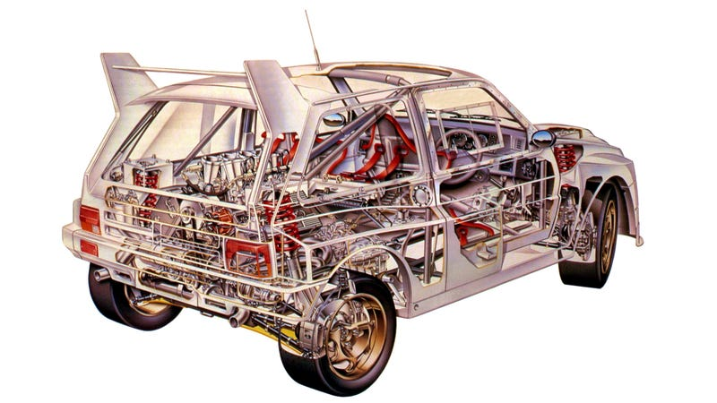 Illustration for article titled This Ugly Hatchback Is One Of The Best-Sounding Cars Ever