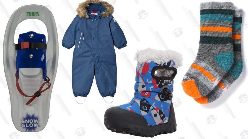 Tubbs Snowshoes SnowGlow SnowshoesReima Reimatec Winter Overall GotlandBogs Footwear B-Moc BootsSmartwool Toddler Socks