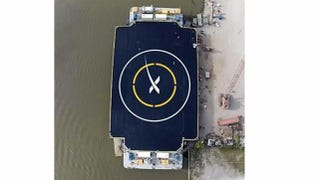Illustration for article titled SpaceX Is Testing Autonomous Space Rocket Landing Ships