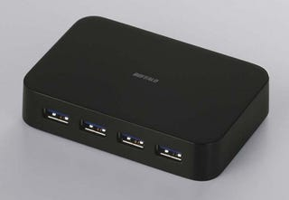 Illustration for article titled USB 3.0 Gets Its First Four-Port Hub