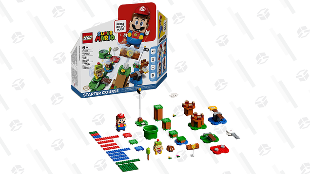 Admit That You Kind of Want the Mario LEGO Set and Then Buy the Starter Course for $48