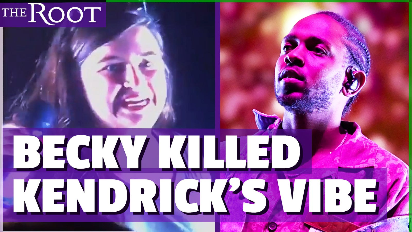 becky got kendrick lamar m a a d rapper shuts down white fan for