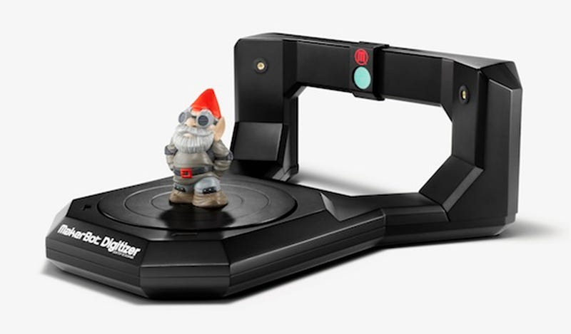 Illustration for article titled MakerBot's New Digitizer Scanner Is a Copier For 3D Items