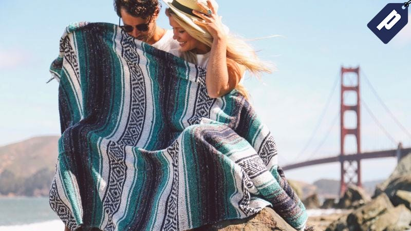 Illustration for article titled Save 30% On These Perfect Take-Anywhere Summer Blankets ($30)