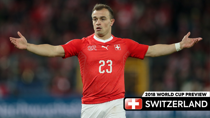 Illustration for article titled Xherdan Shaqiri Better Do Some Cool Shit Quickly Because Switzerland Won't Be In Russia For Long