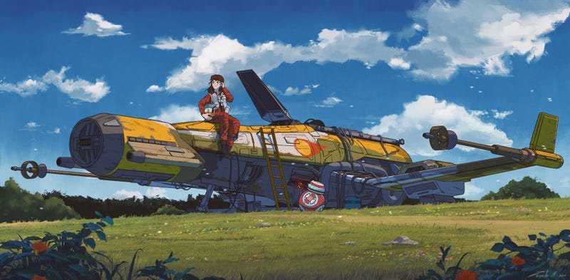 Illustration for article titled Star Wars: A Studio Ghibli Story
