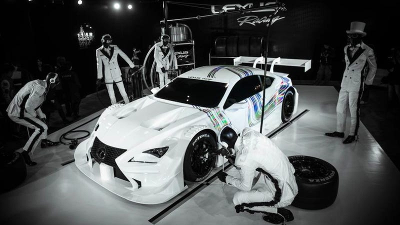 Illustration for article titled The Lexus RC-F GT500 Is Up All Night To Get Lucky