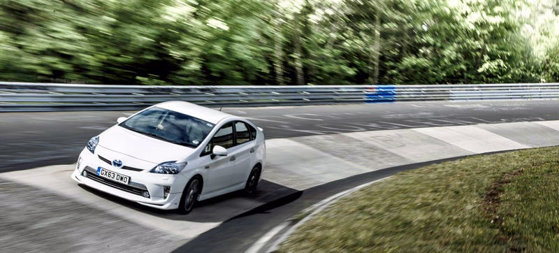 Illustration for article titled The Toyota Prius Plug-In Just Set A Terrible Nürburgring Lap Time