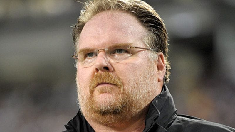 Illustration for article titled Andy Reid Vows To Eat Philadelphia Delicacy If Eagles Win,  Arizona Delicacy If Eagles Lose