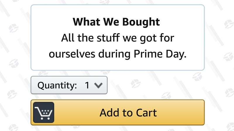 Illustration for article titled The Stuff We Bought For Ourselves On Prime Day