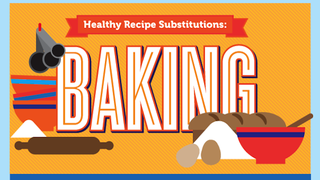 This Infographic Guides You to Healthy, Tasty Baking Substitutions