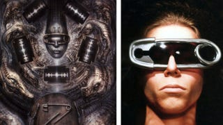 Illustration for article titled I want these homemade H.R. Giger-inspired sunglasses