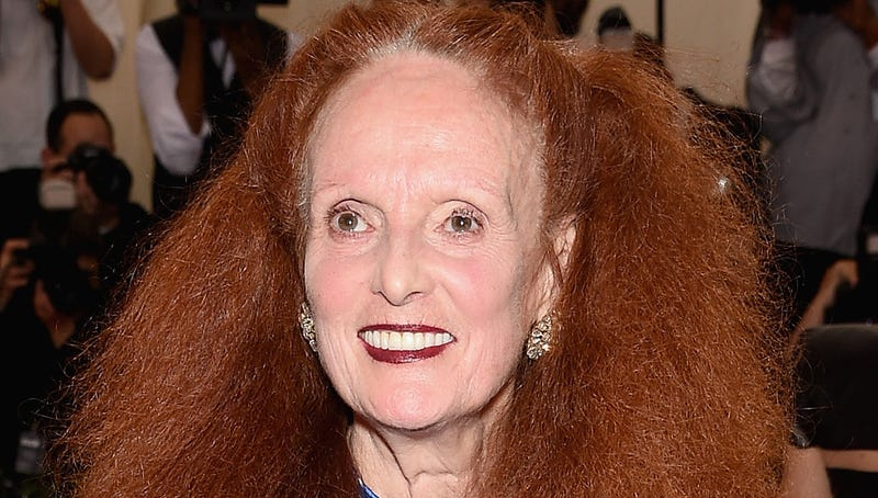 Illustration for article titled Grace Coddington and Her Pajamas Are the Met Gala's True Winners