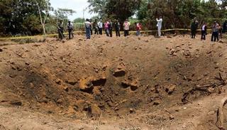 Illustration for article titled Cae un meteorito atribuido al asteroide 2014 RC, deja un cráter de 12m