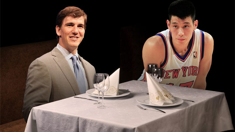 Illustration for article titled Are New York's Most Exclusive Restaurants More Eager To Seat Jeremy Lin Or Eli Manning? Deadspin Investigates