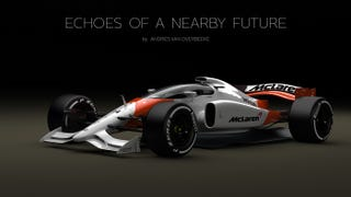 F1 Concept Rendering combines futuristic F1, fighter jet and Indy Car