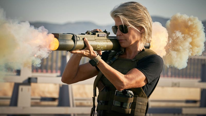 How and why Sarah Connor is back is a huge question in Terminator: Dark Fate.