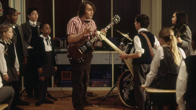 Illustration for article titled Ignoring the advice of its father, who's in finance, Nickelodeon orders School Of Rock series