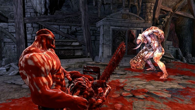 Illustration for article titled Review: Splatterhouse Is Just Bloody Offal