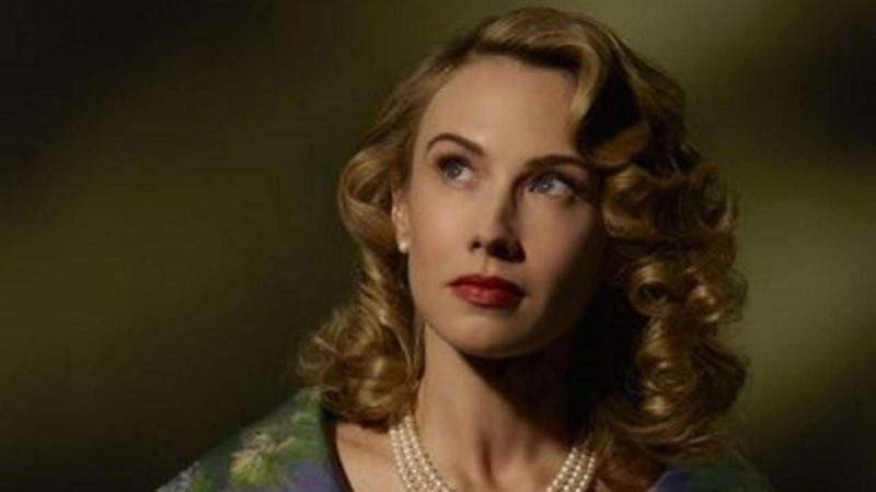 Wyn Everett as Whitney Frost on Marvel's Agent Carter