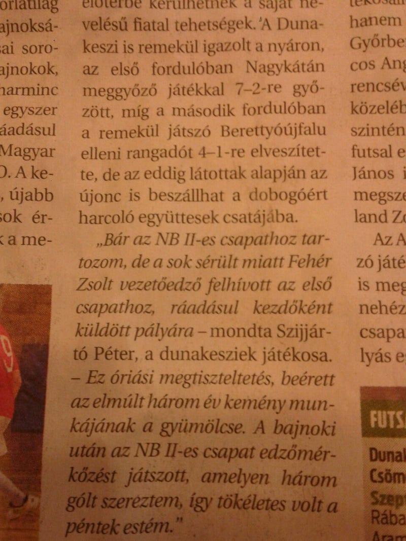 Illustration for article titled Tökéletes péntek estéje volt Szijjártó Péternek!