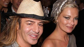 Illustration for article titled Kate Moss Allegedly Hired John Galliano To Make Her Wedding Dress