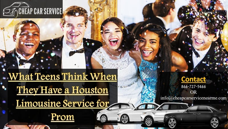 Illustration for article titled What Teens Think When They Have a Houston Limousine Service for Prom