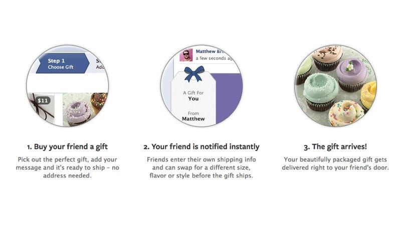 Illustration for article titled Facebook Gifts Just Became the Easiest Way to Look Good in Front of Everyone