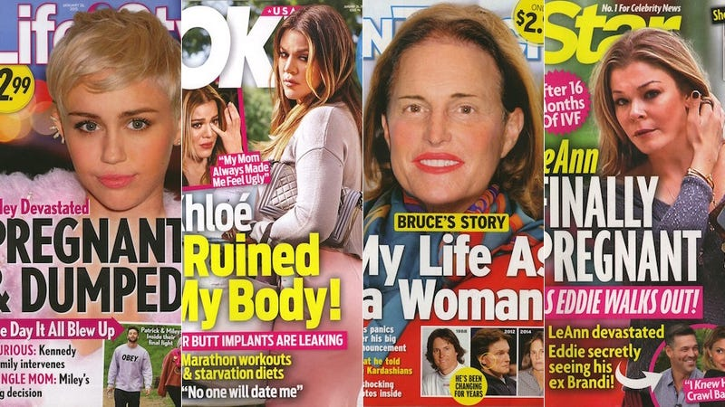 Illustration for article titled This Week In Tabloids: Bruce Jenner Photoshopped Into Contoured Lady