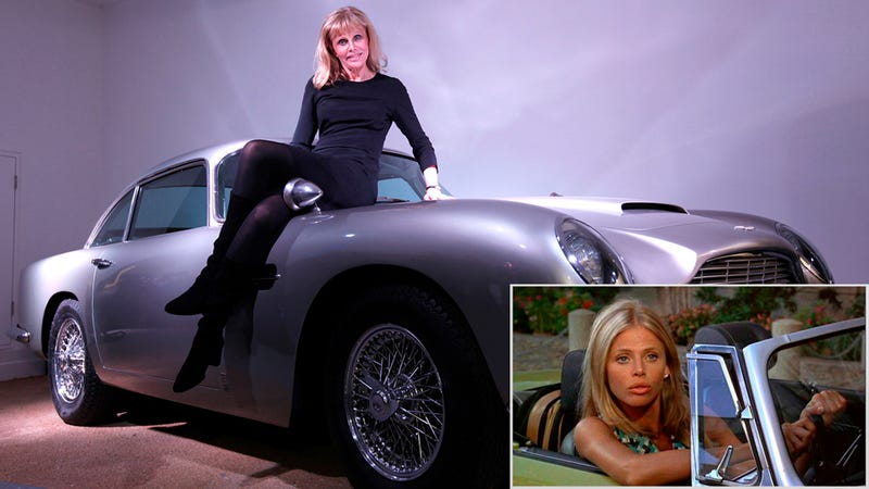 Illustration for article titled Bond Girls And Bond Cars: Then And Now