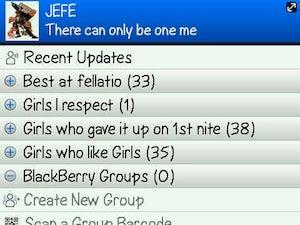 Gilbert Arenas Has A Special BlackBerry Messenger Category