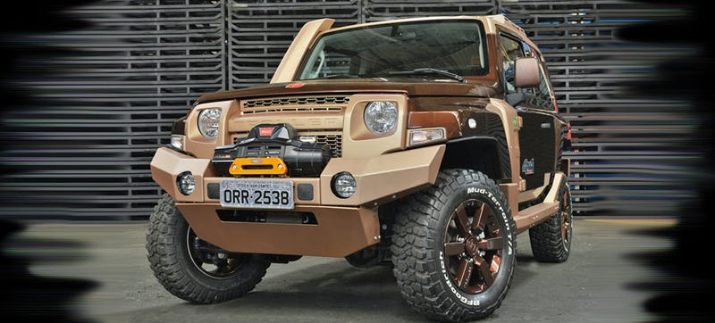 This Troller T4 Concept Is All Your Favorite Old-School SUVs, Plus Armor