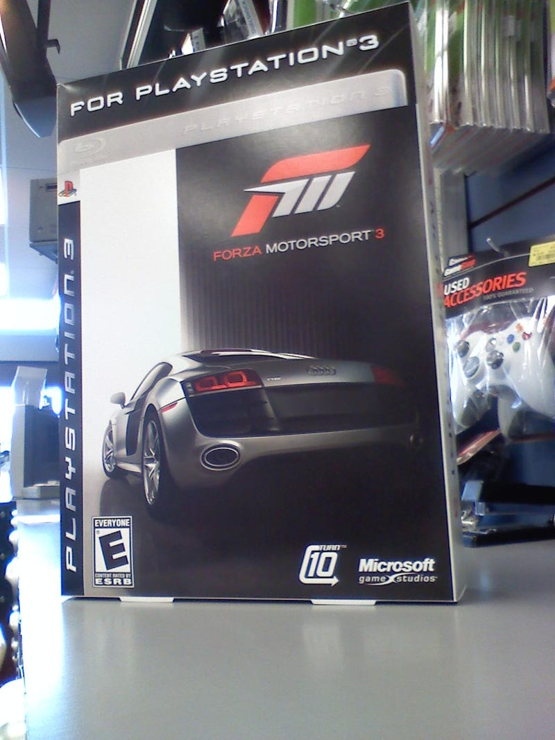 Illustration for article titled GameStop Brings Forza 3 to PS3