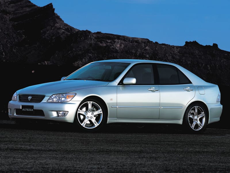 Illustration for article titled Toyota Altezza