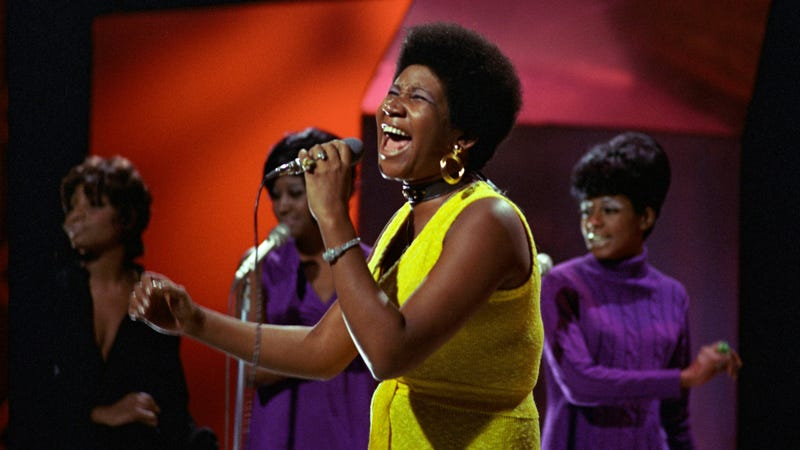 Aretha Franklin performs on Top Of The Pops in 1970