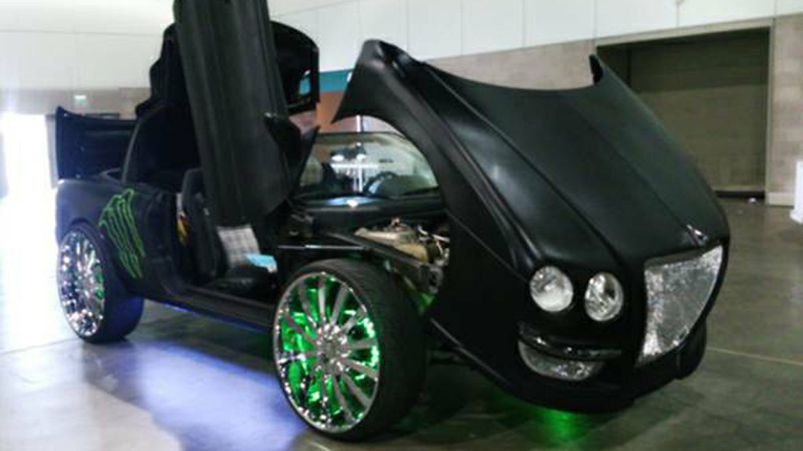 This Terrifying Bentley Donk Is Actually A Chrysler