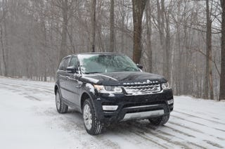 Illustration for article titled 2014 Range Rover Sport HSE – Winter Test