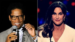 D.L. Hughley; Caitlyn JennerEthan Miller/Getty Images; Kevin Winter/Getty Images